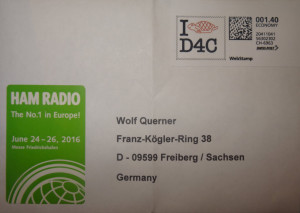 Direct QSL example